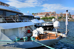 łodzi douro rzeka Obraz Royalty Free