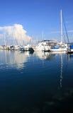 łodzi marina Obrazy Royalty Free