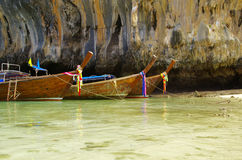 łodzi morze Thailand Zdjęcie Royalty Free