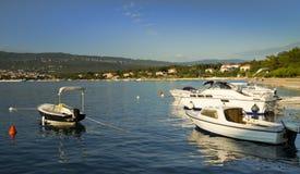 łodzi schronienie Zdjęcie Royalty Free