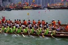 łodzi smoka paddle uczestnicy ich Zdjęcia Stock