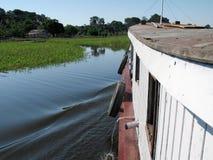 łodzi strona Zdjęcie Stock