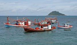 łodzi target1102_1_ Zdjęcie Royalty Free