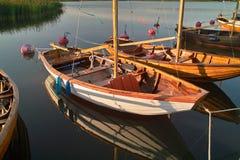 łodzi target2088_1_ Obraz Stock