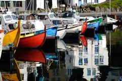 łodzi target545_1_ Obrazy Stock
