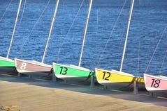 łodzi target576_1_ Obraz Stock