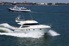 łodzi target714_1_ Zdjęcie Royalty Free