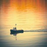 łodzi zabawki woda Obraz Stock