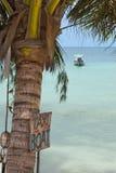 łodzi znaka taxi Zdjęcia Stock