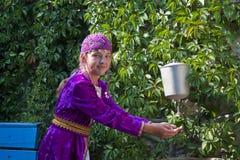 odzieżowa dziewczyna krajowy Tatar zdjęcia royalty free