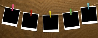 Odzieżowej linii fotografia obraz stock