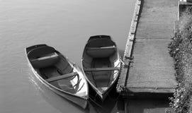 łodzie dwa Fotografia Royalty Free