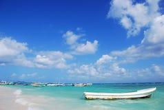 łodzie karaibskie Obrazy Stock