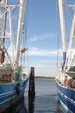 łodzie krewetkowe Obrazy Royalty Free