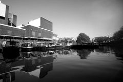 łodzie London Zdjęcia Stock
