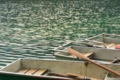 Łodzie na jeziorze Fotografia Royalty Free