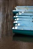 Łodzie na jeziorze Obraz Stock