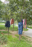 Odzieżowy suszarniczy outside Zdjęcie Royalty Free