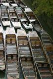 łodzie Oxfordu Obraz Royalty Free