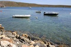 łodzie podpalane Zdjęcie Stock