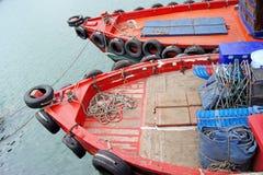 Łodzie rybackie Zdjęcie Stock