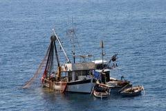 Łodzie rybackie na pracie Fotografia Stock