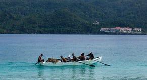 Łodzie rybackie w Karaiby Obraz Royalty Free