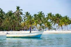 Łodzie rybackie w Karaiby Fotografia Stock