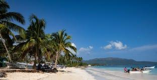 Łodzie rybackie w Karaiby Obraz Stock
