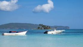 Łodzie rybackie w Karaiby Zdjęcie Royalty Free