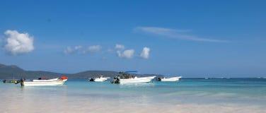 Łodzie rybackie w Karaiby Zdjęcie Stock