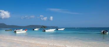 Łodzie rybackie w Karaiby Zdjęcia Stock