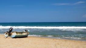 Łodzie rybackie w Karaiby Zdjęcia Royalty Free