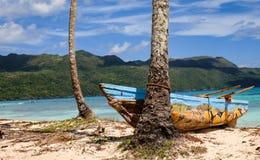 Łodzie rybackie w Karaiby Obrazy Royalty Free