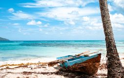 Łodzie rybackie w Karaiby Fotografia Royalty Free