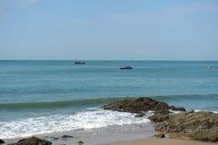 Łodzie rybackie w Vung Tau Wietnam Zdjęcie Royalty Free