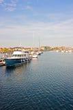 łodzie rzeczne Zdjęcia Royalty Free