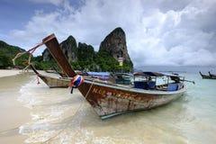 łodzie tajlandzkie Fotografia Royalty Free