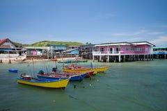 łodzie target1106_1_ Thailand Zdjęcie Stock