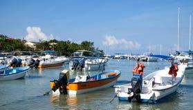 Łodzie w Karaiby Fotografia Royalty Free