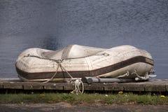 Łodzie w marina schronieniu Zdjęcia Royalty Free