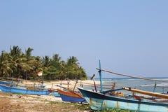 Łodzie w Sumatra obraz stock