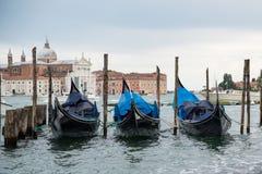 Łodzie w Wenecja Obrazy Stock