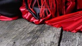 Odziewać dla Flamenco poruszającego materiału filmowego zbiory