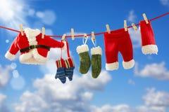 Odziewać Santa na arkanie obrazy stock