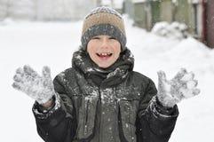 odziewa dzieciak zima Obraz Stock