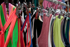 odziewa kolorowego Fotografia Stock