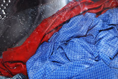 odziewa kolorowego maszynowego domycie Obraz Royalty Free