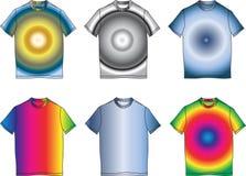odziewa koloru mody ilustracyjną kształta koszula t Obraz Stock