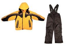 odziewa sport zima Obrazy Royalty Free